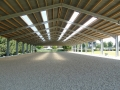 Horse arenas and horse stables